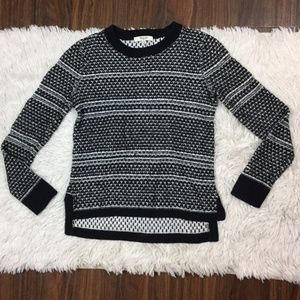 MADEWELL Pullover Crewneck Black Knit Sweater